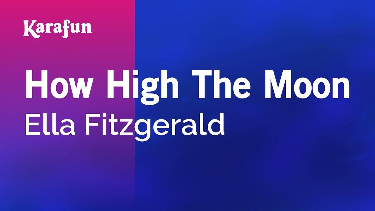 Karaoke How High The Moon - Ella Fitzgerald *