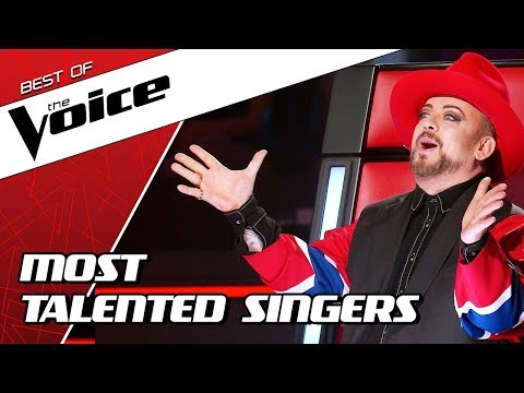 TOP 10 | MOST TALENTED SINGERS In The Voice
