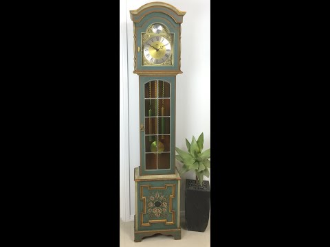 Clock Strike Sound Tempus Fugit Longcase Westminster Gr