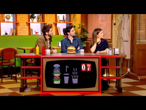 Pierre Niney et Marina Foïs trompés par la stupidité artificielle !  Burger Quiz
