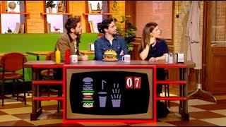 Pierre Niney et Marina Foïs trompés par la stupidité artificielle ! - Burger Quiz