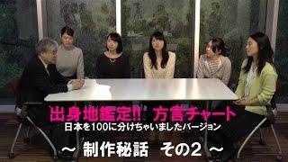 出身地鑑定!! 方言チャート:日本を100に分けちゃいましたバーション そ...