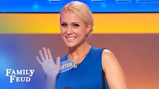 Here's when husbands flirt with other women... | Family Feud