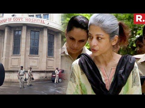 Indrani Mukherjee Admitted To JJ Hospital In Mumbai