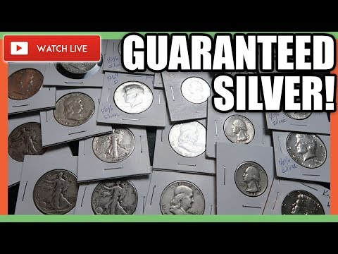 SILVER COINS WORTH MONEY - COIN ROLL HUNTING NICKELS!!