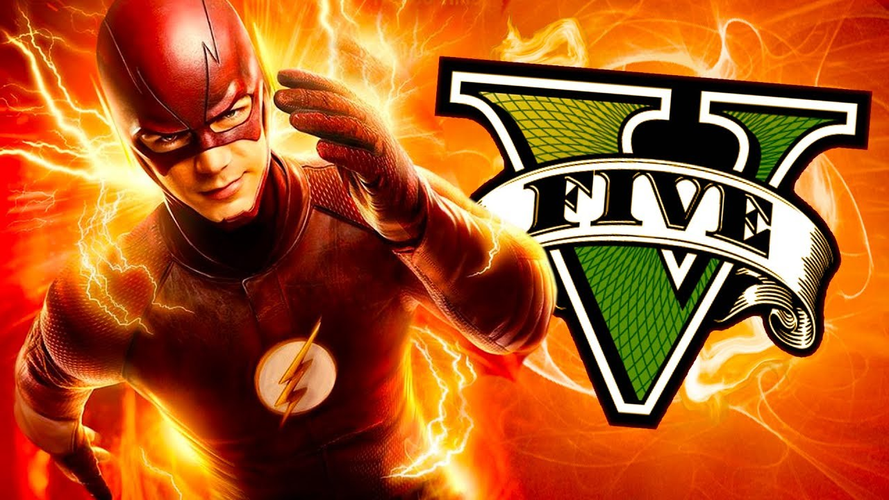 Soy FLASH en GTA 5!! Grand Theft Auto V - GTA V Mods thumbnail