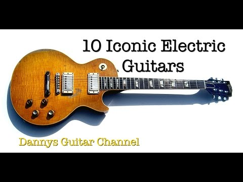 Top 10 Iconic Electric Guitars Played  Blues Guitar Legends