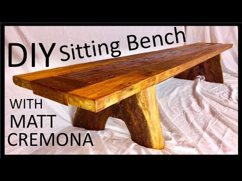 DIY SITTING BENCH With Matt Cremona