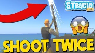 How To Shoot Twice In Strucid... +THOR'S HAMMER (Roblox Fortnite)