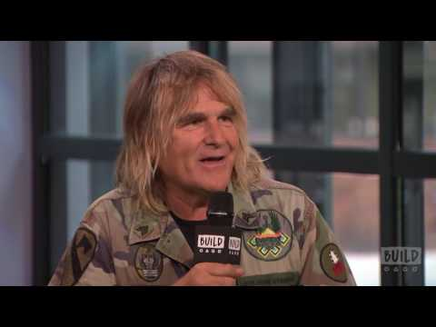 """Mike Peters On The Film, """"Man In The Camo Jacket"""""""