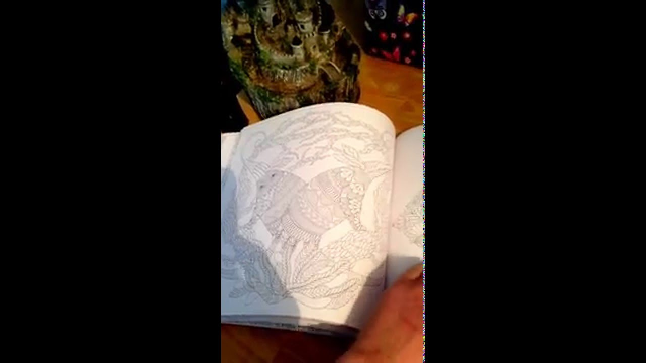 Millie Marotta Wild Savannah Colouring Book Flick Through