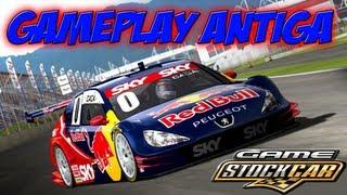 GAMEPLAY ANTIGA: Game Stock Car Brasil(PC) Gameplay