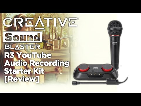 Creative Sound Blaster R3 YouTube Audio Recording Starter Kit [Review]