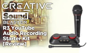 Creative Sound Blaster R3 YouTube Audio Recording Starter Kit [Review]
