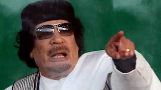 Libya conflict: Gaddafi