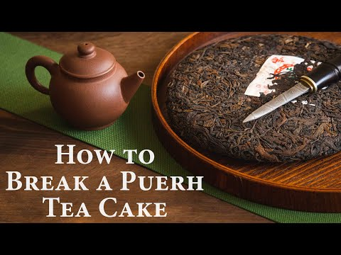 how-to-break-a-puerh-tea-cake