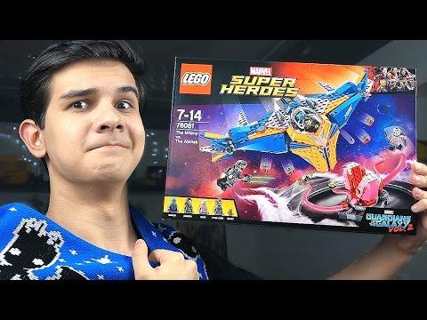 LEGO Стражи Галактики 2: ВСЯ КОМАНДА - Набор На Обзор (76081)