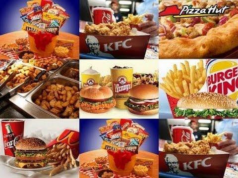 los alimentos Químicos, Industrializados y refinados son