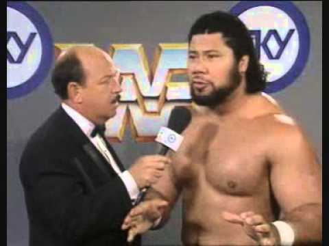 Haku speaks Tongan at UK Rampage '91