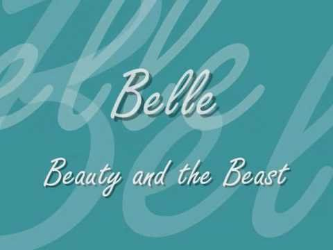 Belle + Belle (Reprise) - Disney Lyrics