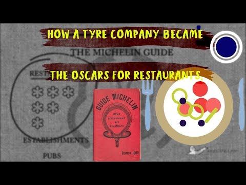 How a tyre company became the Hallmark for fine dining.