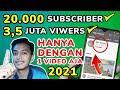 cara menambah subscriber youtube dengan cepat gratis tanpa aplikasi 2021 ~ Dunia Bang Joe