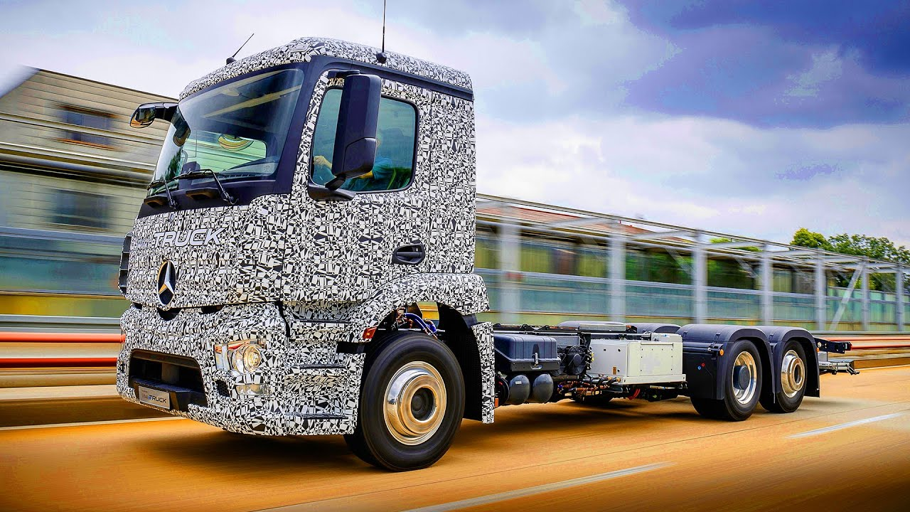 Mercedes Urban Etruck First Fully Electric Truck Urbanetruck