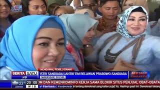 Download Video Istri Sandiaga Uno Lantik Tim Relawan Prabowo-Sandi di Makassar MP3 3GP MP4