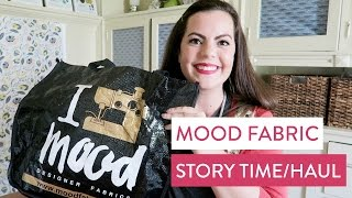 Mood Fabric Haul & Storytime | AKA Project Runway Nerd Out and My Trip to NYC