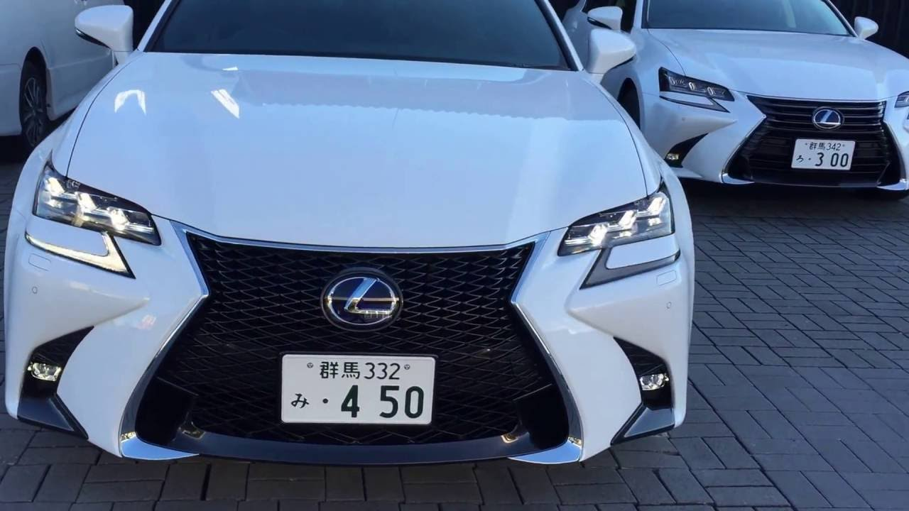 【LEXUS】新型GS 450h Fsport - YouTube