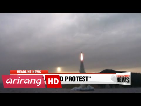 EARLY EDITION 18:00 N. Korea fires submarine-launched ballistic missile into East Sea