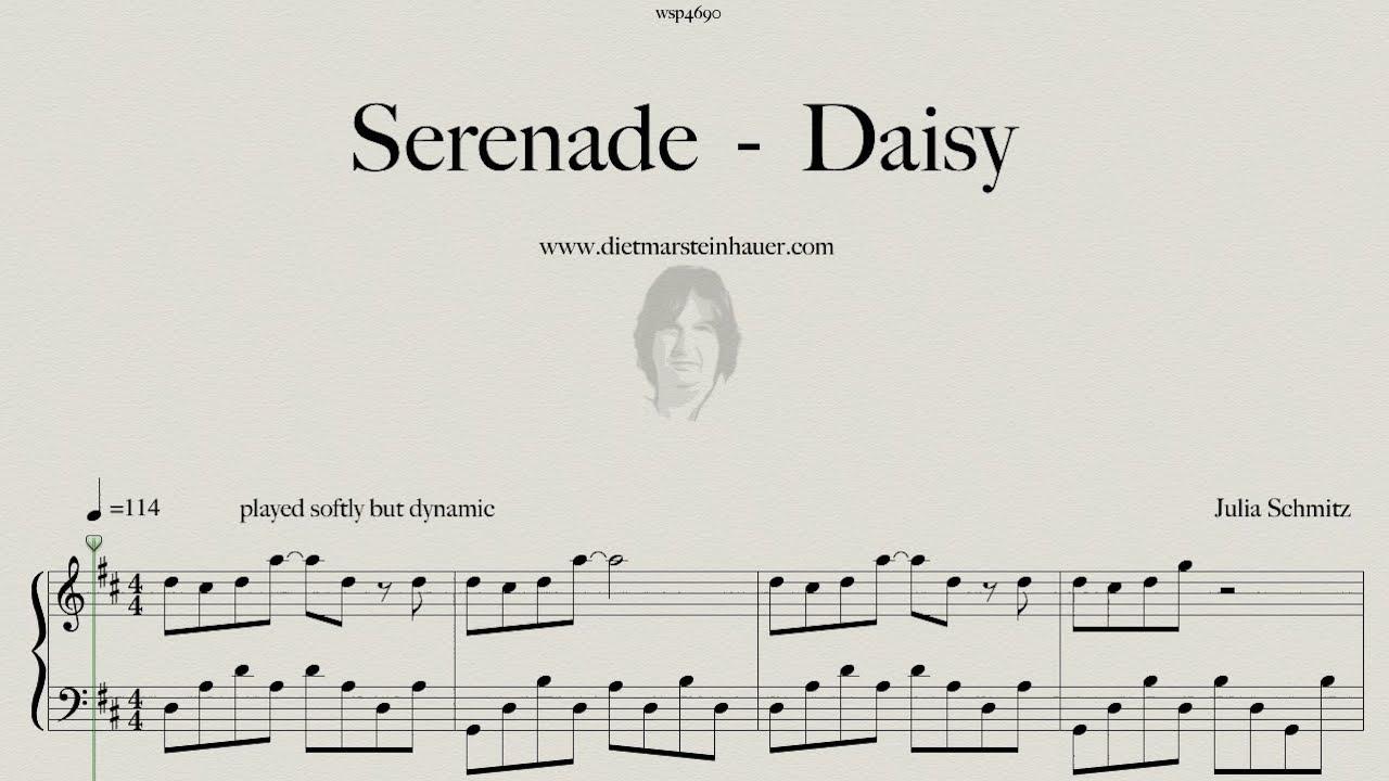 Serenade daisy youtube for Dietmar steinhauer