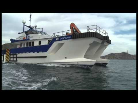 Wind Farm Service Vessel _ Mercurio Shipyard