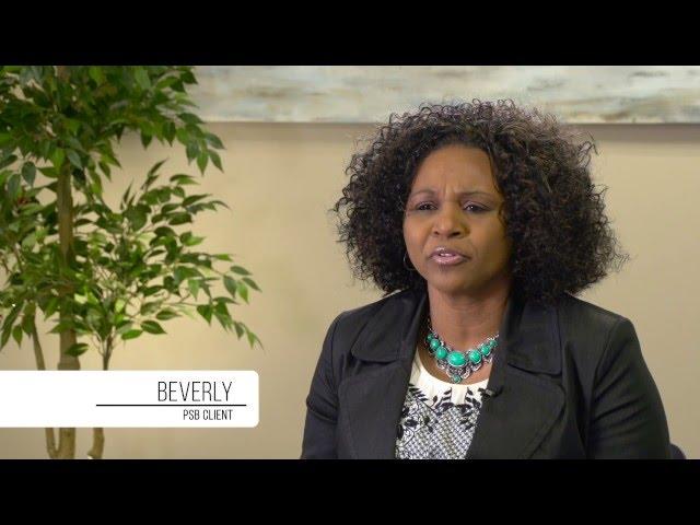 Beverly's Testimonial