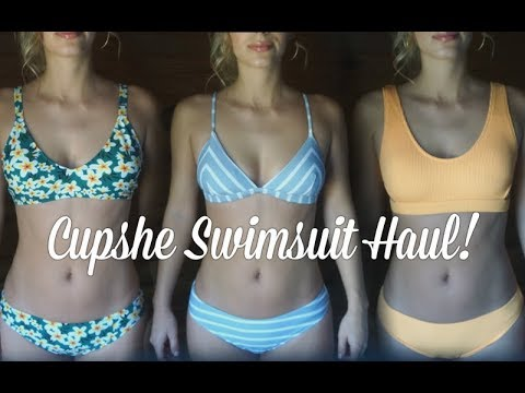 d73791f35ea IS CUPSHE LEGIT  Affordable Swimsuit Haul! REVIEW + TRY ON! - YouTube