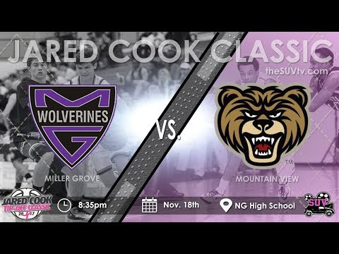 2017 Jared Cook Tip-Off Classic: Miller Grove vs. Mountain View rs