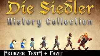 Die Siedler HISTORY COLLECTION  *kurzer Test*  + Fazit