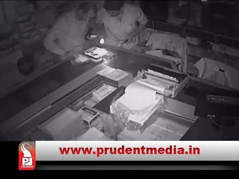 ROBBERY IN NATIONAL PHARMACY- BICHOLIM,  ACT RECORDED ON CCTV_Prudent Media