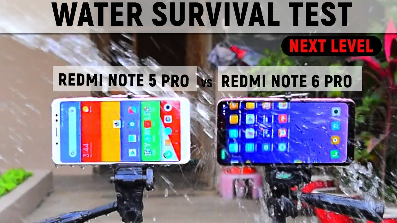 official photos 93be1 2e1b6 [ Waterproof ?] Redmi Note 6 Pro vs Redmi Note 5 Pro #Extrem