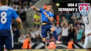 MNT vs. Germany: Highlights - June 10, 2015