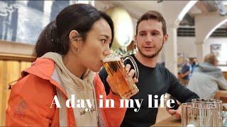 "VLOG | 독일 살면 맥주 자주 마셔요?→ ""네, 매…"