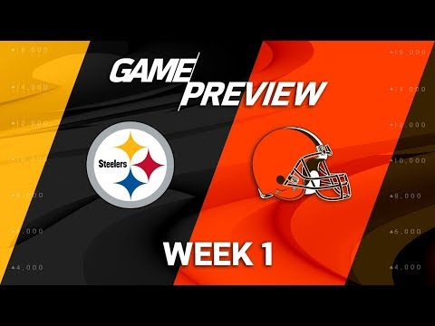 Pittsburgh Steelers vs. Cleveland Browns | Week 1 Game Preview | NFL Playbook