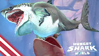 Why Megalodon So Ugly !! - Hungry Shark World