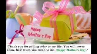 Happy Mother's Day- Mother Day Wishes-Quotes-Greetings-Love You Mom