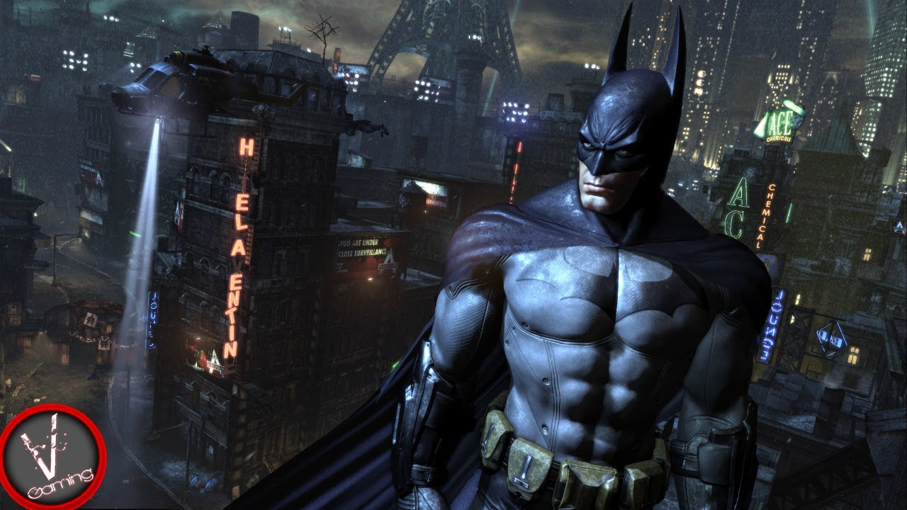 Batman Arkham City PC Gameplay MAX Settings 1080p