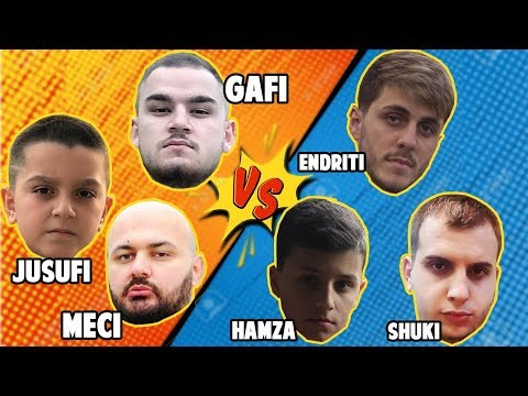 JUSUFI GAFI MECI VS HAMZA ENDRITI SHUKI - BOX FIGHT FORTNITE -