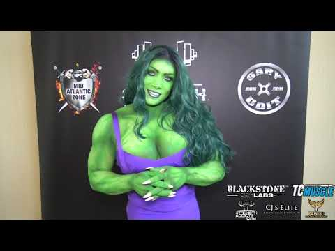 Isabelle Turell – Women's Bodybuilding Superstar – 2019 NPC North American