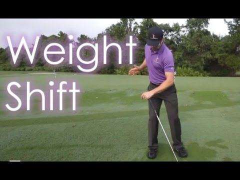 How to Shift Your Weight – 60 Sec. Free Golf Tips