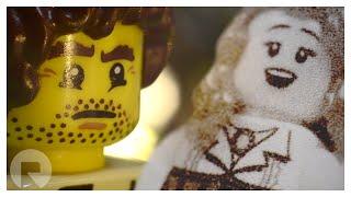 Paper Valentine • LEGO Brickfilm