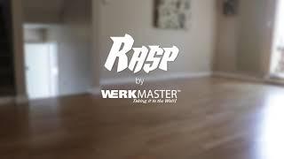 Refinishing engineered hardwood with The RASP hardwood floor sander